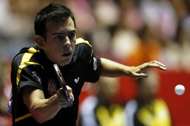 El internacional Marc Durán augura un gran futuro al tenis de mesa español