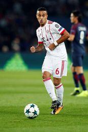 Thiago baja casi segura del Bayern para el duelo contra el Hamburgo
