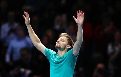 Goffin, primero en ganar a números uno y dos en Masters desde Davydenko 2009