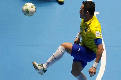 Brasil vence a Costa Rica por 5-1 en un amistoso de fútbol sala