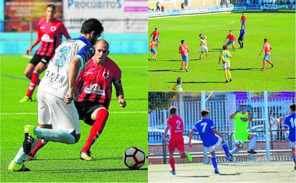 Imágenes del Chic.Ind.-Algabeño, Coria-Conil, San José-Estrella en la jornada 12 de Div.Honor