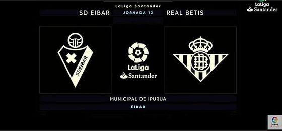 SD Eibar-Real Betis, en directo