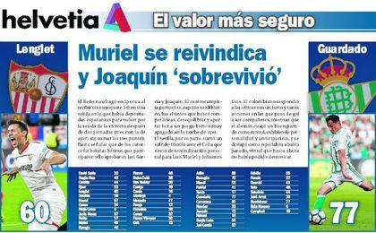 Muriel se reivindica y Joaquín 'sobrevivió'