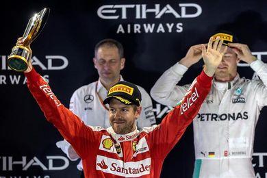 Hamilton y Vettel los más exitosos en Abu Dabi, donde Alonso vivió un duro revés