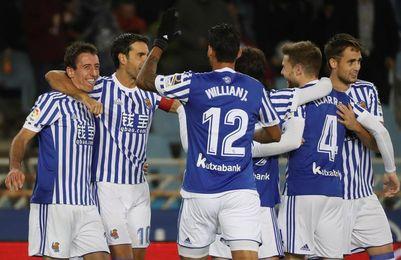 0-1. Oyarzabal mete a la Real en la siguiente ronda en el minuto 89