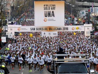 La San Silvestre Vallecana igualará el récord con 42.000 participantes