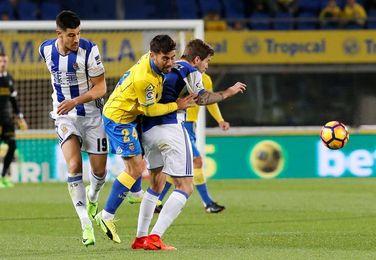 Ayestarán se juega su futuro en Anoeta, un campo propicio para Las Palmas
