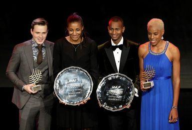 Yulimar Rojas y Karsten Warholm, trofeo Estrellas Emergentes