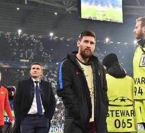 Messi no habla de su renovación en la entrega de la Bota de Oro