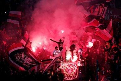 El PSG sancionado con un partido sin la tribuna de los ultras por incidentes