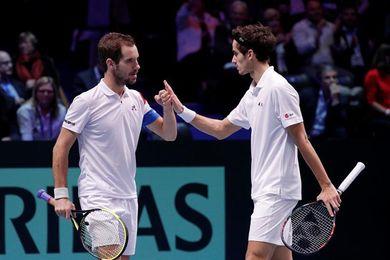 2-1 Francia vence en el dobles y acaricia el décimo título de la Copa Davis