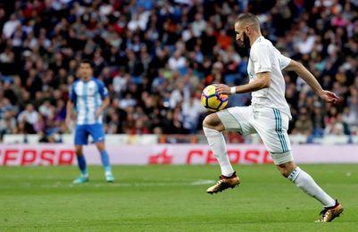 Benzema supera a Pirri; Cristiano no marcaba desde mayo en Liga en el Bernabéu