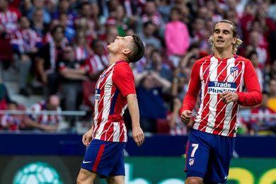 Muñiz mantiene a Oier en la meta, el Atlético sale con Gameiro y Griezmann