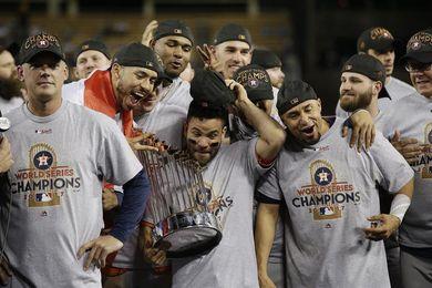 Los Astros simbolizan una temporada de ensueño del béisbol de las Grandes Ligas