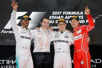 Bottas ganó el Gran Premio de Abu Dabi, el último del Mundial