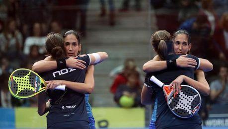 Las gemelas Sánchez Alayeto logran en Bilbao su octavo título de la temporada