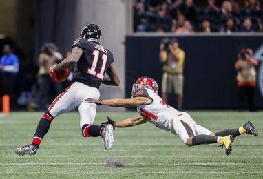34-20. Jones logra una marca de liga en el triunfo de los Falcons sobre los Buccaneers