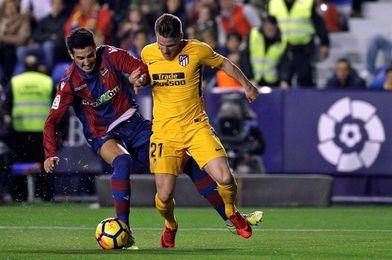 El Levante llega al primer tercio de Liga en puestos de salvación y con dudas