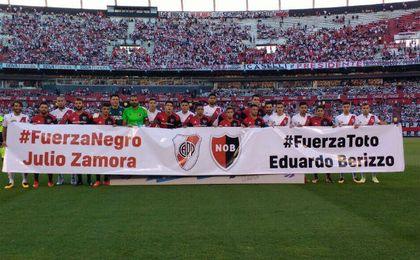 Barça y Newell´s mandan mensajes de apoyo a Berizzo en sus partidos