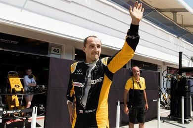 Kubica, presente en los test de neumáticos con Williams
