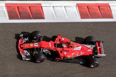 Raikkonen, el más rápido en la tanda matinal; Kubica completa 100 vueltas
