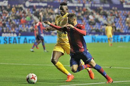 1-1. El Levante elimina a un Girona que tuvo opciones de igualar eliminatoria