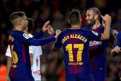 5-0. El Barça golea al Murcia y sella el pase a los octavos de final