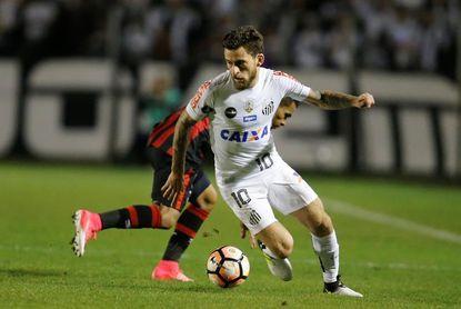 Lucas Lima jugará en el Palmeiras en 2018, dice el presidente del Santos
