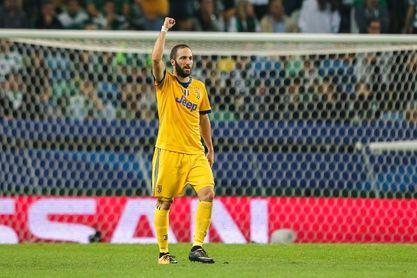 Higuaín entra en la lista del Juventus para la visita al Nápoles