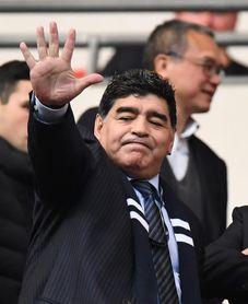 Maradona, el gran ausente del ensayo del sorteo en el Kremlin