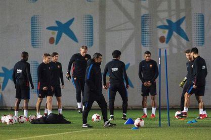 Valverde ha podido trabajar con todos los disponibles en el entrenamiento
