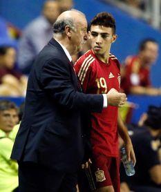 """Del Bosque: """"Me siento culpable de que Munir no pueda jugar con Marruecos"""""""