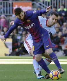 1-1. Barcelona y Celta empatan tras un primer tiempo trepidante