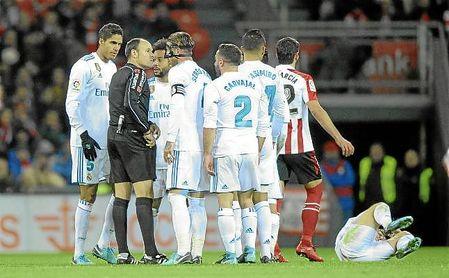 Ramos, con 19 expulsiones, es el jugador más expulsado de la historia de LaLiga.