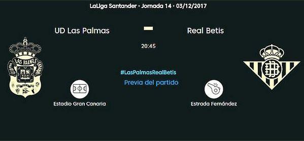 UD Las Palmas-Real Betis, en directo