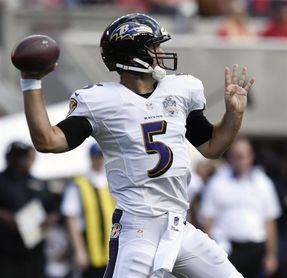 44-20. Flacco lanza para dos anotaciones y los Ravens amplían racha triunfal