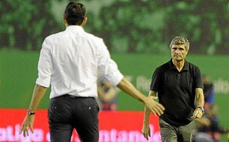 Juande Ramos, en su visita al Benito Villamarín la pasada temporada con el Málaga.