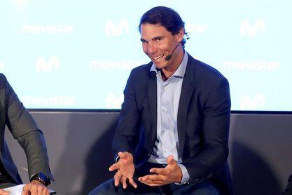 """Nadal: """"Para competir aún queda un mes y quiero ir paso a paso"""""""