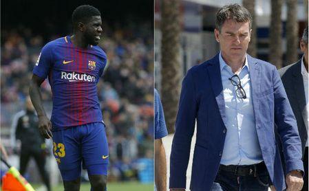 El Barça no piensa en fichar a un central en enero