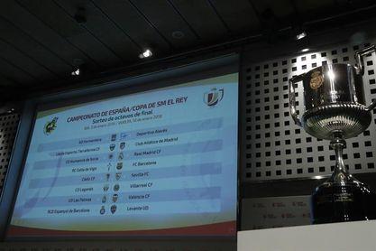 Celta-Barcelona, Numancia-Real Madrid y Lleida-Atlético, en octavos de final