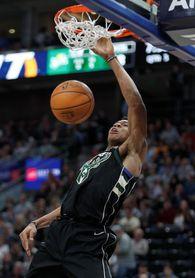 104-100. Antetokounmpo conduce el ataque de los Bucks que vencen a los Pistons