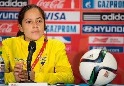 La entrenadora de Ecuador confía en obtener un cupo para el Mundial de Francia