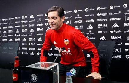 Garay será baja ante el Celta y Soler estará a disposición de Marcelino
