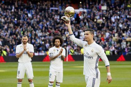 El fútbol portugués felicita a Cristiano Ronaldo por su quinto Balón de Oro