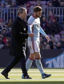 Sergi Gómez deberá ser operado de la luxación de hombro