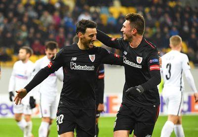 0-2. Aduriz y Raúl García meten al Athletic en dieciseisavos de final