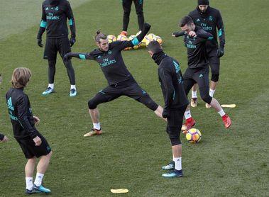 Bale se entrena con el grupo pero sigue de baja; Vallejo listo para jugar