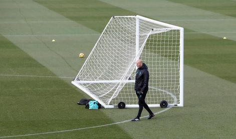 Guiño de Zidane a Berizzo y su lucha en la víspera del partido