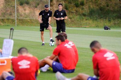 Machín, con problemas para confeccionar la defensa ante el Espanyol