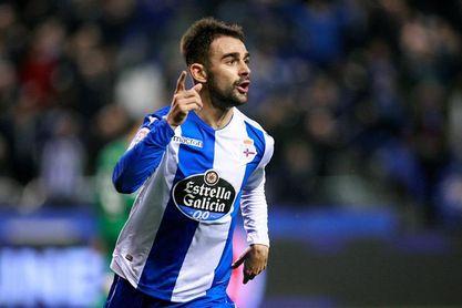 1-0. Çolak alegra el juego del Dépor y Adrián le da oxígeno ante el Leganés